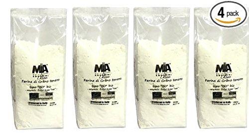 Freccia Rossa Market, Organic Type 00 Pizza Flour 1 kg – 4 Pack