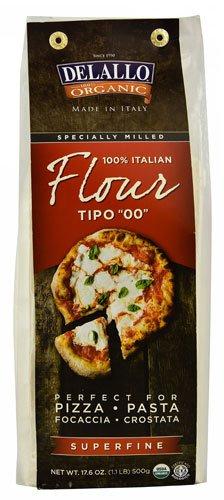 Delallo Organic Italian Flour Superfine — 17.6 oz – 2 pc