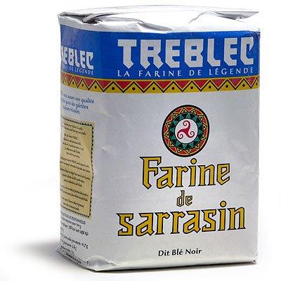 Treblec Farine De Sarrasin – Buckwheat Flour From Brittany – 2.2 Lbs (1 PACK)