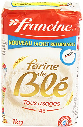 Francine Farine de Ble Tous Usages – French All Purpose Wheat Flour – 2.2 lbs