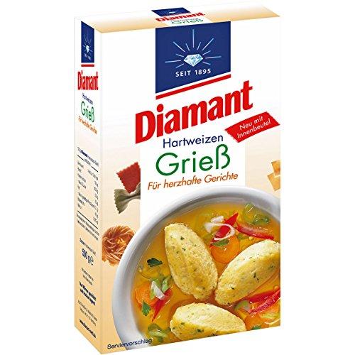 German Diamant Semolina Flour ( Hartweizen Griess ) 500g